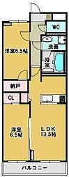 グランドパレス[2階]の間取り