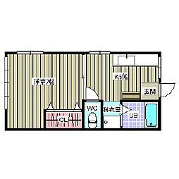 KAIFU[2階]の間取り