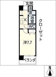 SUNNY HIGASHIYAMA[9階]の間取り