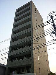 神奈川県川崎市幸区南幸町3丁目の賃貸マンションの外観