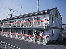 埼玉県三郷市早稲田2の賃貸アパートの外観