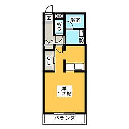 J MOA[1階]の間取り