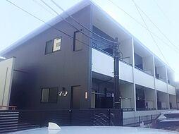 神奈川県横浜市港北区綱島上町の賃貸アパートの外観