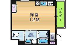 プレシア松崎[4階]の間取り