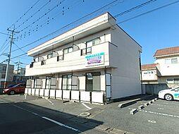 群馬県太田市新井町の賃貸アパートの外観