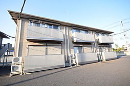 栃木県宇都宮市戸祭4の賃貸アパートの外観
