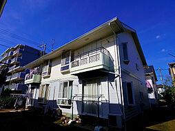 埼玉県所沢市大字下安松の賃貸アパートの外観