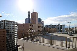 北西側バルコニーからの眺望