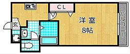 M'PLAZA津田駅前十番館[3階]の間取り