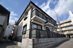 兵庫県神戸市灘区将軍通1丁目の賃貸アパートの外観