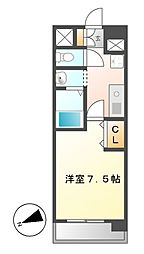 ASレジデンス千代田[4階]の間取り