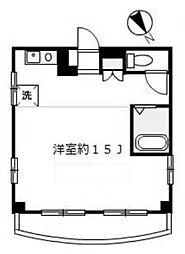 天王町ファーストビル[2階]の間取り