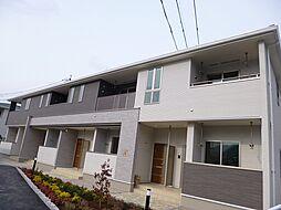 広島県広島市安佐北区可部1丁目の賃貸アパートの外観
