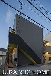 大阪府堺市東区日置荘原寺町の賃貸アパートの外観