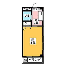 セジュールTAKU[4階]の間取り