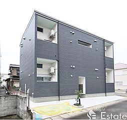 愛知県春日井市勝川町5丁目の賃貸アパートの外観
