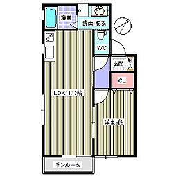 ビエンナーレ[2階]の間取り