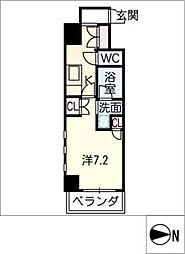 IARIM栄東[5階]の間取り