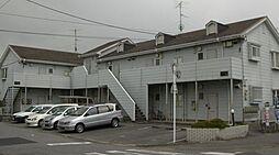 埼玉県越谷市大字弥十郎の賃貸アパートの外観