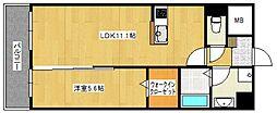 ラフレシーサ医大通り[5階]の間取り