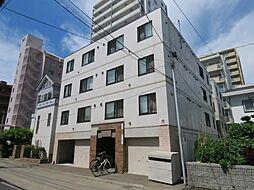 北海道札幌市中央区北六条西25丁目の賃貸マンションの外観