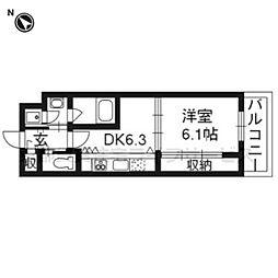 Grand E'terna 京都[1212号室]の間取り