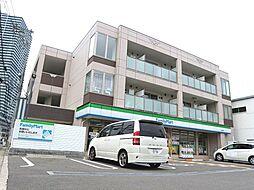 大阪府八尾市跡部北の町1丁目の賃貸マンションの外観