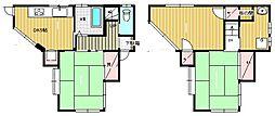 [一戸建] 東京都葛飾区新小岩4丁目 の賃貸【/】の間取り