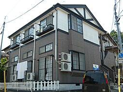 宮城県仙台市青葉区荒巻神明町の賃貸アパートの外観
