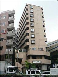 東京都港区麻布十番1丁目の賃貸マンションの外観