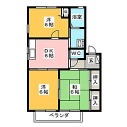 メゾン8B棟[1階]の間取り