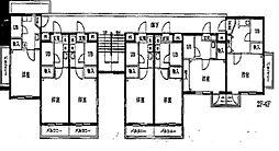 ジュネパレス浦安第1[3階]の間取り