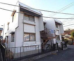 京都府京都市西京区下津林北浦町の賃貸アパートの外観