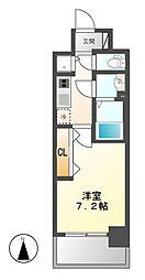プレサンス名古屋グロウ[13階]の間取り