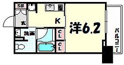 レジディア神戸元町[11階]の間取り