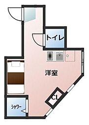 フォレスタ新宿上落合III シンジュクカミオチアイ[101号室]の間取り