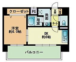 エメロード博多駅東[902-号室]の間取り