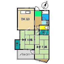 MS高須[2階]の間取り