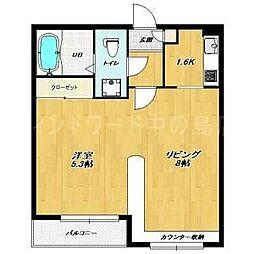 House of LIZA 平岸壱番館[3階]の間取り