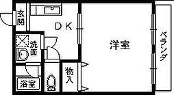 ポポラート泉[1階]の間取り