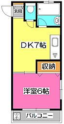 レヂオンス新所沢[2階]の間取り