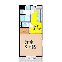 西岡崎駅 4.3万円