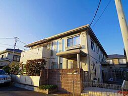 東京都国立市東1丁目の賃貸アパートの外観