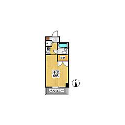 オセアン新沢ビル[2階]の間取り