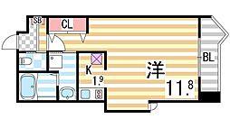 ブリランテIII番館[305号室]の間取り