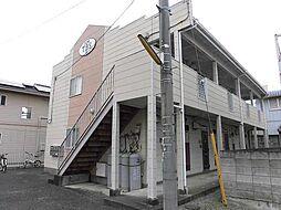 ハイツTBS A棟[1階]の外観