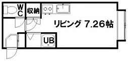 プラザイン東札幌[402号室]の間取り