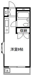 アイコート東長崎[101号室]の間取り