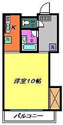 メゾン高栄C[203号室]の間取り