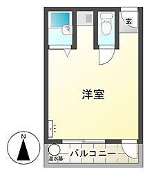 千石センタービル[3階]の間取り